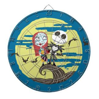 Jack and Sally | Cute Moon Dartboard