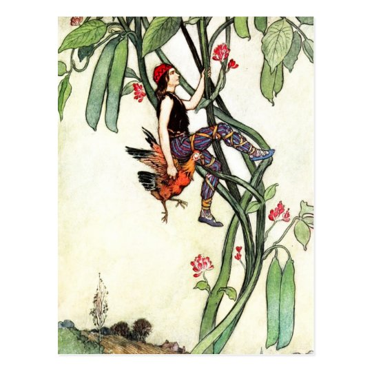 Jack and the Beanstalk Postcard