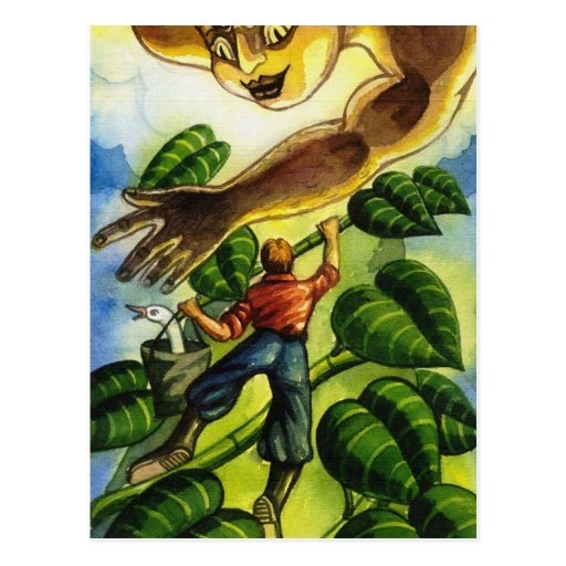 Jack And The Beanstalk Post Card