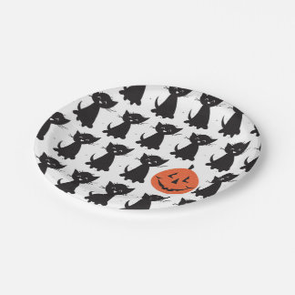 Jack and the Black Cats party plates 7 Inch Paper Plate