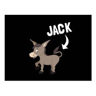 Jack Ass Postcard