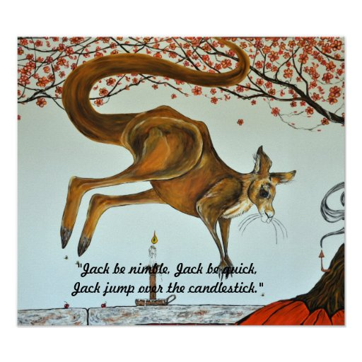 Jack be nimble, Jack be quick... Poster
