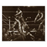 Jack Dempsey and Luis Firpo George Bellows Poster