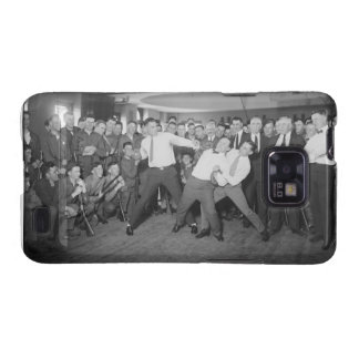 Jack Dempsey Mock Fighting Against Harry Houdini Samsung Galaxy S2 Cover