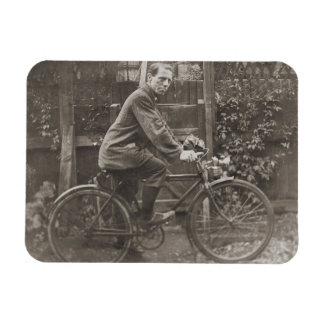 Jack Fitzgerald Bicycle Rectangular Photo Magnet