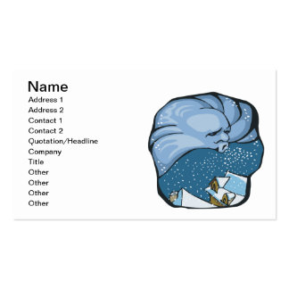 Jack Frost Pack Of Standard Business Cards