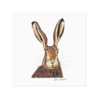 Jack Hare Canvas