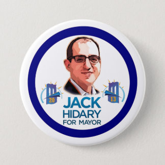 Jack Hidary for NYC Mayor 2013 7.5 Cm Round Badge