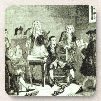 Jack in Newgate Ward having portraits taken by Sir Beverage Coasters