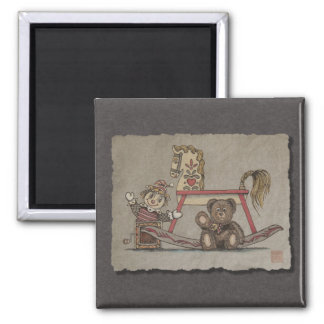 Jack in the Box, Horse & Bear Magnet