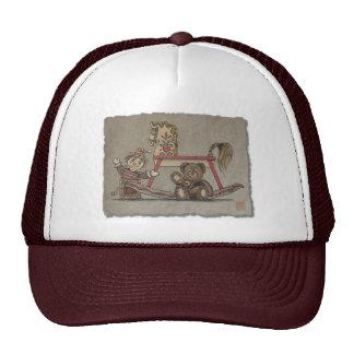 Jack in the Box, Horse & Bear Mesh Hats