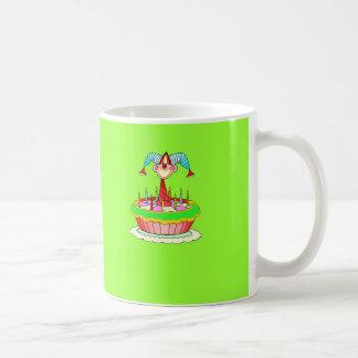 Jack in the Cake Customisable Birthday Design Basic White Mug