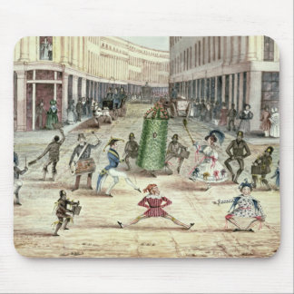 Jack in the Green, May Day Celebrations of the Chi Mouse Mat