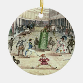 Jack in the Green, May Day Celebrations of the Chi Round Ceramic Decoration