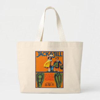 Jack & Jill Florida Peppers Jumbo Tote Bag