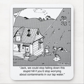 Jack Jill Worry About Water Contanimants Mouse Pads