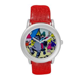 Jack Kids Adjustable Bezel  Stainless Steel Watch