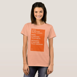 Jack Layton Inspirational Womens' T Shirt