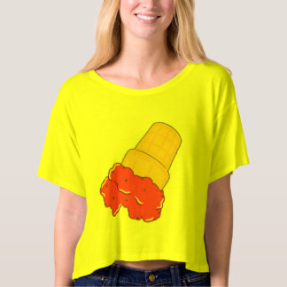 Jack Milan Ice Cream Crop Top T-Shirt