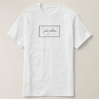 Jack Milan Signature T-Shirt
