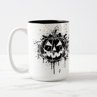 Jack O' Graffiti BLK Two-Tone Mug