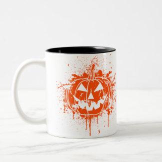 Jack O' Graffiti Two-Tone Mug