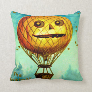 Jack O' Lantern Air Balloon Cushion