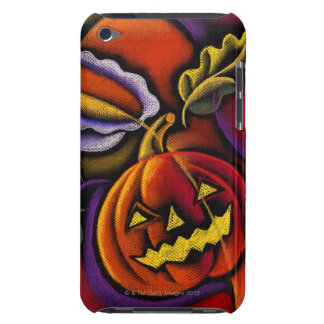 Jack-o'-lantern Barely There iPod Cover