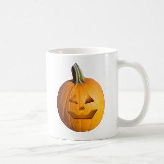 Jack O' Lantern Basic White Mug