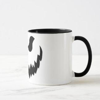 Jack-o-lantern coffee cup