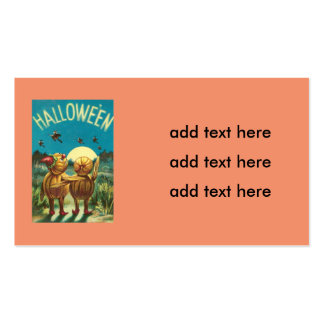 Jack O' Lantern Creature Monster Witch Pack Of Standard Business Cards