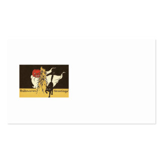 Jack O' Lantern Ghost Black Cat Cornstalk Pack Of Standard Business Cards