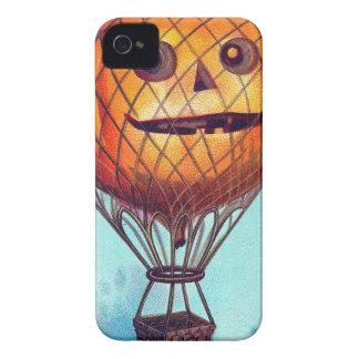 Jack O Lantern Hot Air Balloon iPhone 4 Case
