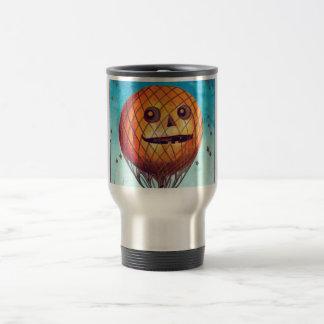 Jack O Lantern Hot Air Balloon Coffee Mugs