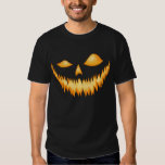 Jack O Lantern In The Dark With An Evil Grin 2 T Shirt