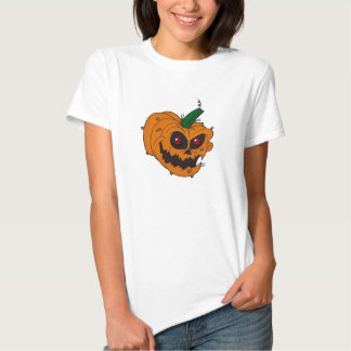 Jack-O-Lantern Ladies Baby Doll (Fitted) T-shirt