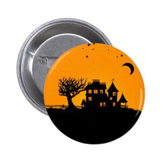 Jack O Lantern Manor 6 Cm Round Badge