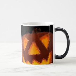 Jack-o'-lantern Morphing Mug