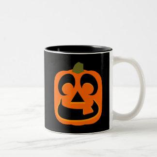 Jack O Lantern Two-Tone Mug