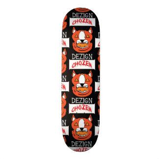 Jack-O-Lantern Pitbull 20 Cm Skateboard Deck