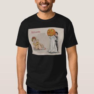 Jack O' Lantern Pumpkin Ghost Trick Or Treat Shirt