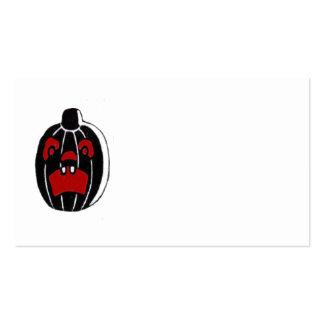 Jack O Lantern Pumpkin Halloween Pack Of Standard Business Cards