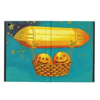 Jack O' Lantern Pumpkin Hot Air Balloon Cover For iPad Air