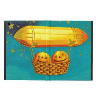 Jack O' Lantern Pumpkin Hot Air Balloon Cover For iPad Air