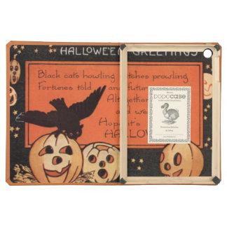 Jack O' Lantern Pumpkin Owl Stars iPad Air Cover