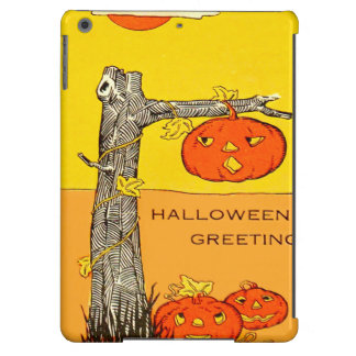 Jack O' Lantern Pumpkin Tree Leaves iPad Air Case