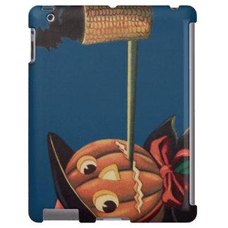 Jack O' Lantern Pumpkin Witch Pipe iPad Case
