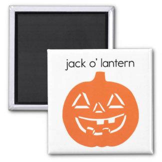 Jack O' Lantern Refrigerator Magnet