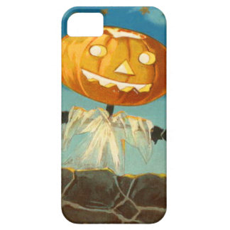 Jack O Lantern Scarecrow Stars Pumpkin iPhone 5 Cover