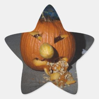 Jack o lantern sticker